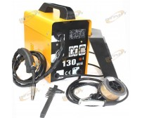 120AMP MIG 130 220V Flux Core Welding Machine Welder Spool Wire Auto Feed + Fan